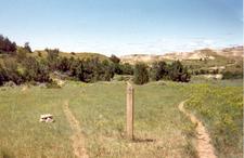 Maah Daah Hey Trail Guide Post