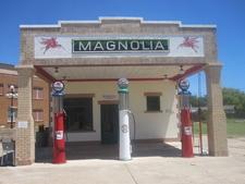 Magnolia Gasoline Station