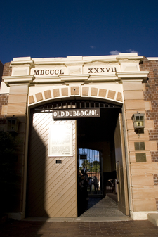Main Entrance Of Old Dubbo Gaol
