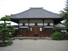 Main Hall At Asuka Dera