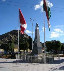 Main Square Of Azangaro