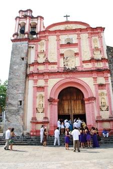 The Facade Of The Tercera Orden Chapel