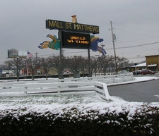 Main Sign For Mall St. Matthews