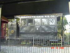 Mammoth Cave Railroad Dummy Steam Engine