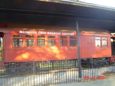 Mammoth Cave Railroad Coach