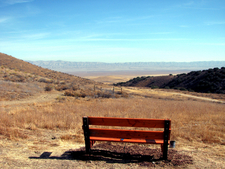 Mano Seca Bench At Selby Campground
