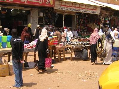 Market In Omdurman