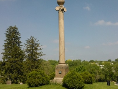 Masonic Memorial In Cementry