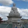 Buddha Statue At The Monastery