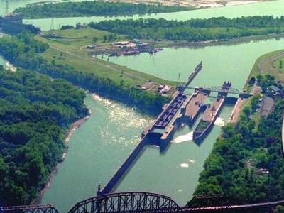 Mcalpine Locks And Dam