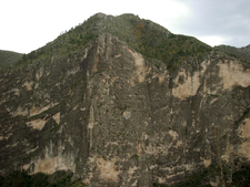 Steep Valley Wall In McKittrick Canyon