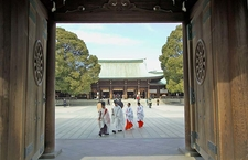 Wedding At The Meiji Shrine