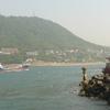 View Of Kanmon Straits FromThe Shrine