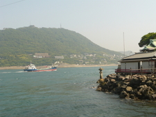 View Of Kanmon Straits FromThe Shrine