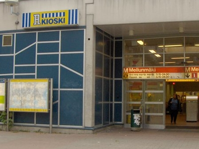 Mellunmäki Metro Station
