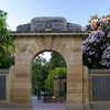 Memorial Arch Located In The Victory Memorial Gardens