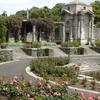 Circular Sunken Rose Garden