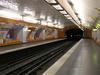 Line 9 Platforms At Saint-Philippe Du Roule