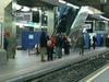 Rogier Metro Station Platforms