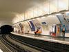 Line 11 Platforms At Pyrenees