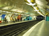 Line 12 Platforms At Mairie D'Issy