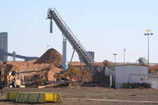 Woodchipping Plant At North Shore