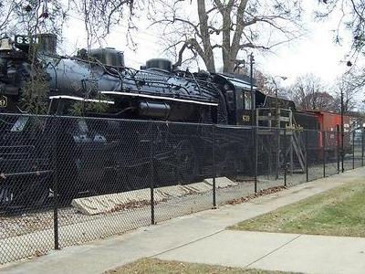 Train In Miller Park