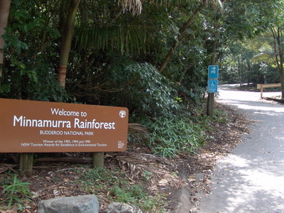 Minnamurra Rainforest Entrance