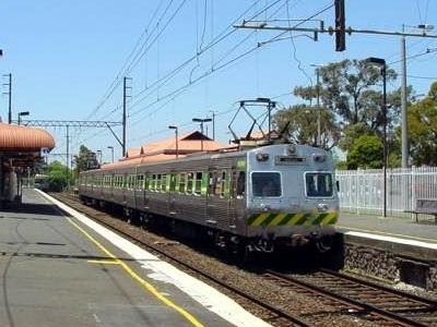 Mitcham Railway Station Melbourne