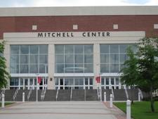Mitchell Center North Entrance