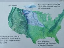 Missouri River Drainage Map