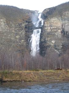 Mollisfossen Waterfall
