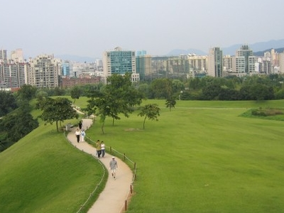 View Of Mongchon Toseong Now Public Park