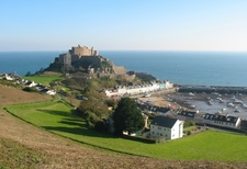 Mont Orgueil And Gorey Harbour Jersey