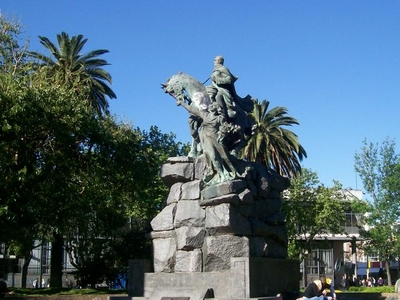 Monument To General José De San Martín