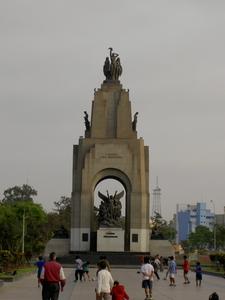 Peru And Ecuador War Monument