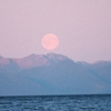 Moonrise In Chatham Strait