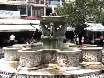 Morozini  Fountain  Heraklion