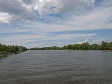 Moskva River In Kolomna