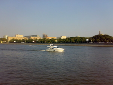 Boats On Moskva River