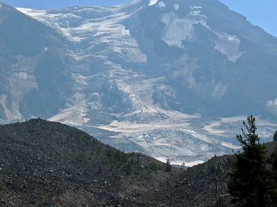 Mount  Adams Glacier  P C T