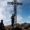 The Cross On Top Of Mount Albert Edward