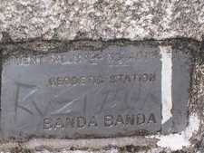 Mount Bandabanda Nameplate
