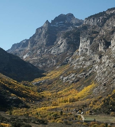 Mt. Gilbert, Lower Right Fork Canyon