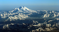 Mount Elbrus And Its Two Peaks