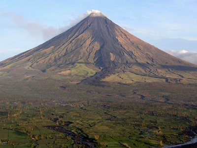 Mayon Volcano Dominates The Geography Of Albay