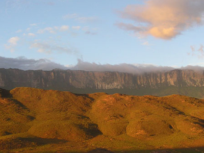 Mt Roraima On Venezuela-Brazil-Guyana Border