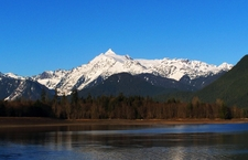 Mt Shuksan From Baker Lake