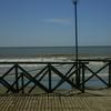 Boardwalk On The Mar Del Tuyú Beach