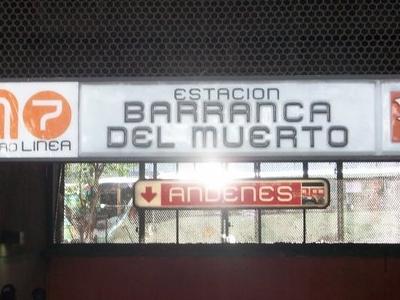 Metro Barranca Del Muerto